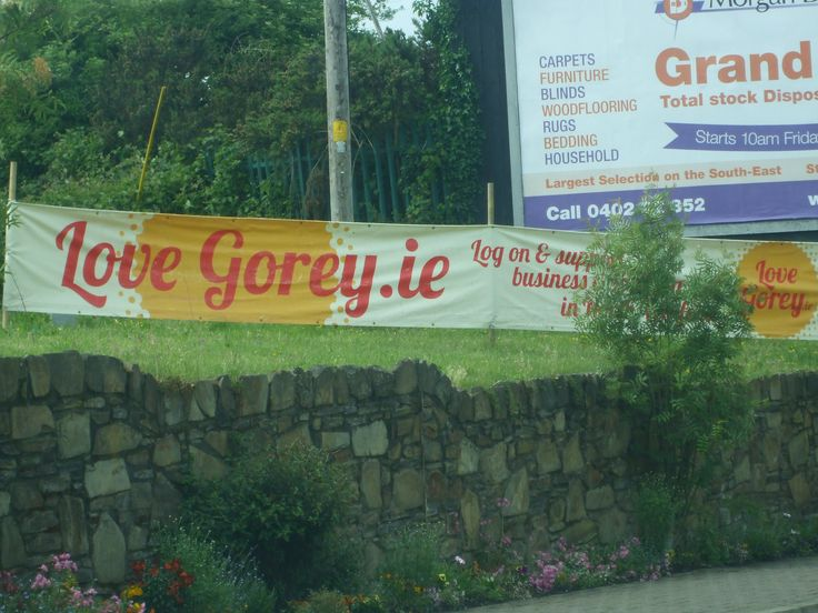 New signs in Gorey