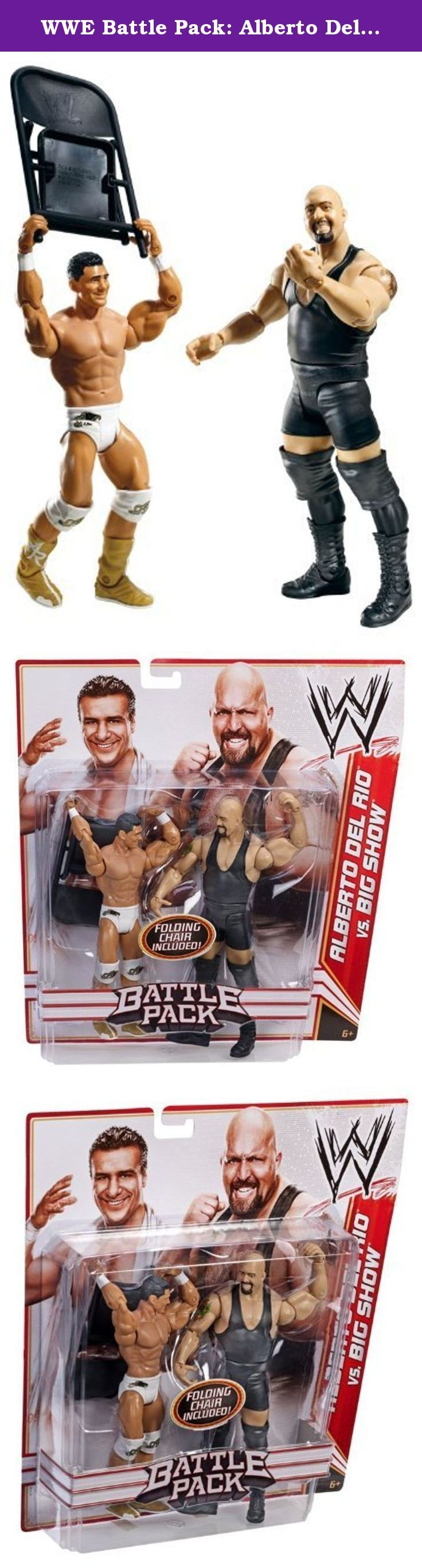 WWE Battle Pack: Alberto Del Rio vs. Big Show Figure 2-Pack Series 16 Toy [parallel import goods]. It's shipped off from Japan.