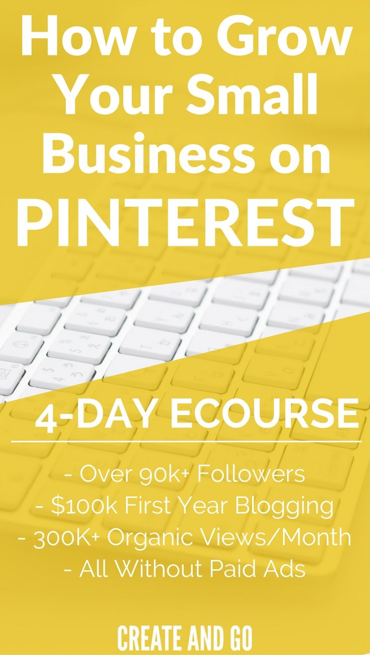 Drive Traffic to Your Blog | Pinterest Tips | Pinterest Marketing | Enter your email and get our FREE 4-Day eCourse on Pinterest for Business for Beginners: http://freecourses.createandgo.co/pinterest-ecourse-direct/