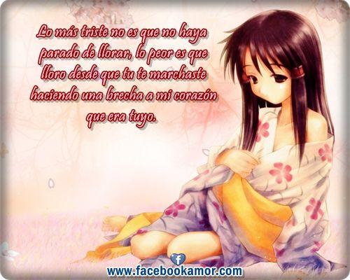 Fotos De Frases De Amor: Fotos Perfil Para Facebook Anime
