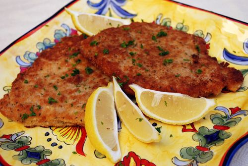 Pork Milanese    This dish is delicious because of it's simplicity. Great with chicken, too!