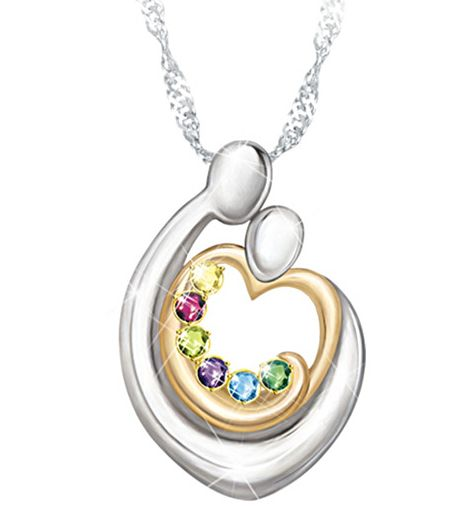 115 Best Mothers Necklace With Kids Names Images On Pinterest