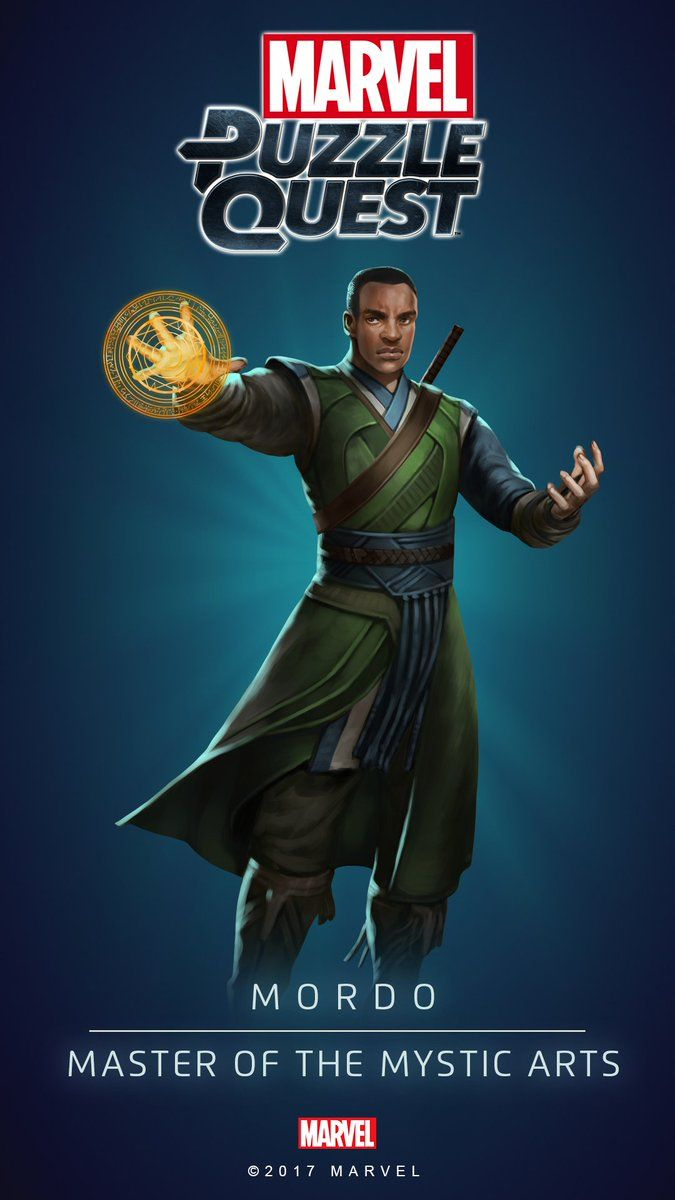 MORDO (Master of the Mystic Arts) | 4 Stars | Profile Face | Marvel PUZZLE QUEST