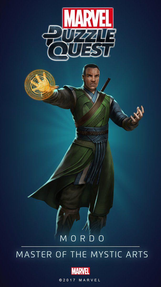 MORDO (Master of the Mystic Arts)   4 Stars   Profile Face   Marvel PUZZLE QUEST