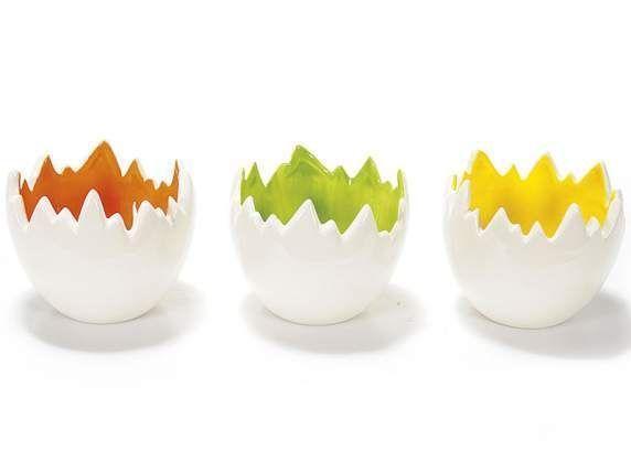 6 porta uova , decorazioni pasquali, contenitore portauova, portauovo, uova