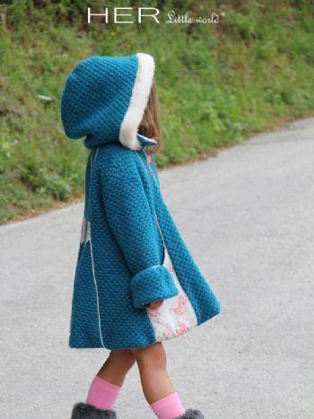 HER Little world, Patron de couture pour vêtement enfant, manteau Féerique