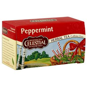 Celestial Seasonings Peppermint tea   excellent for cough and asthma