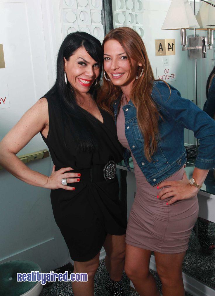 Renee Graziano and Drita D'Avanzo attend 'Eden's World' premiere party