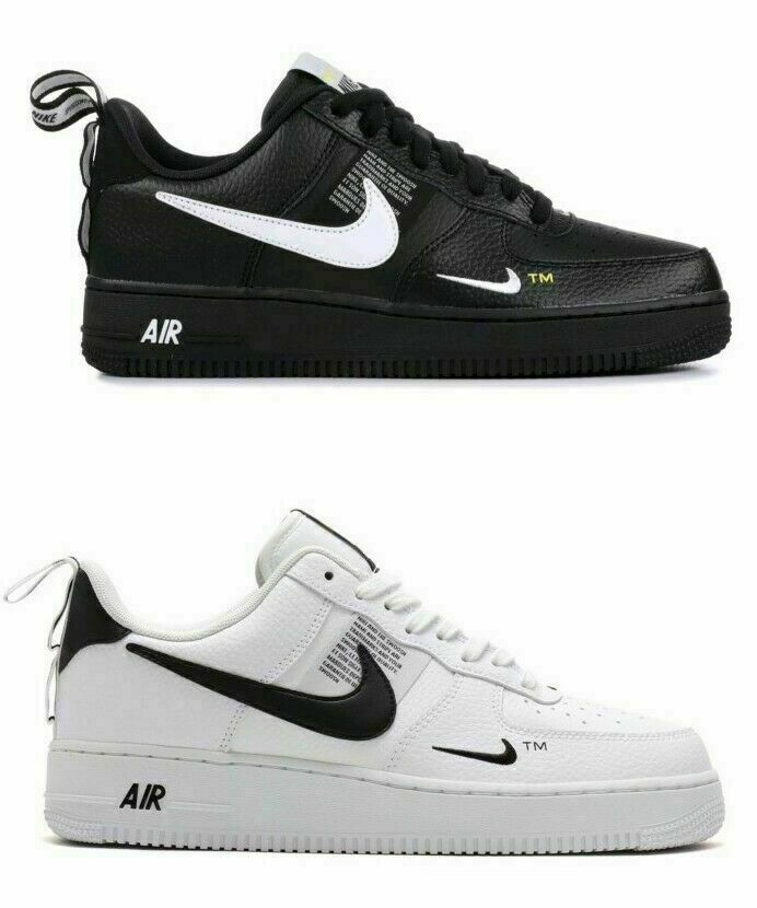 2019 Air Force 1 07 LV8 Utility Chaussures homme noir