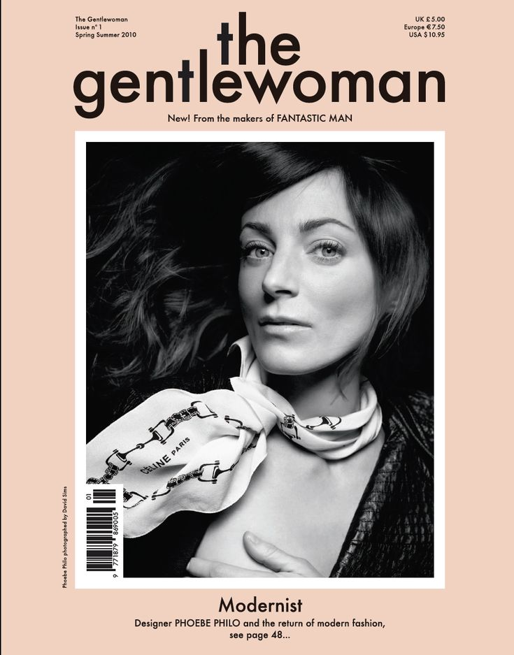the gentlewoman - Phoebe Philo issue n1