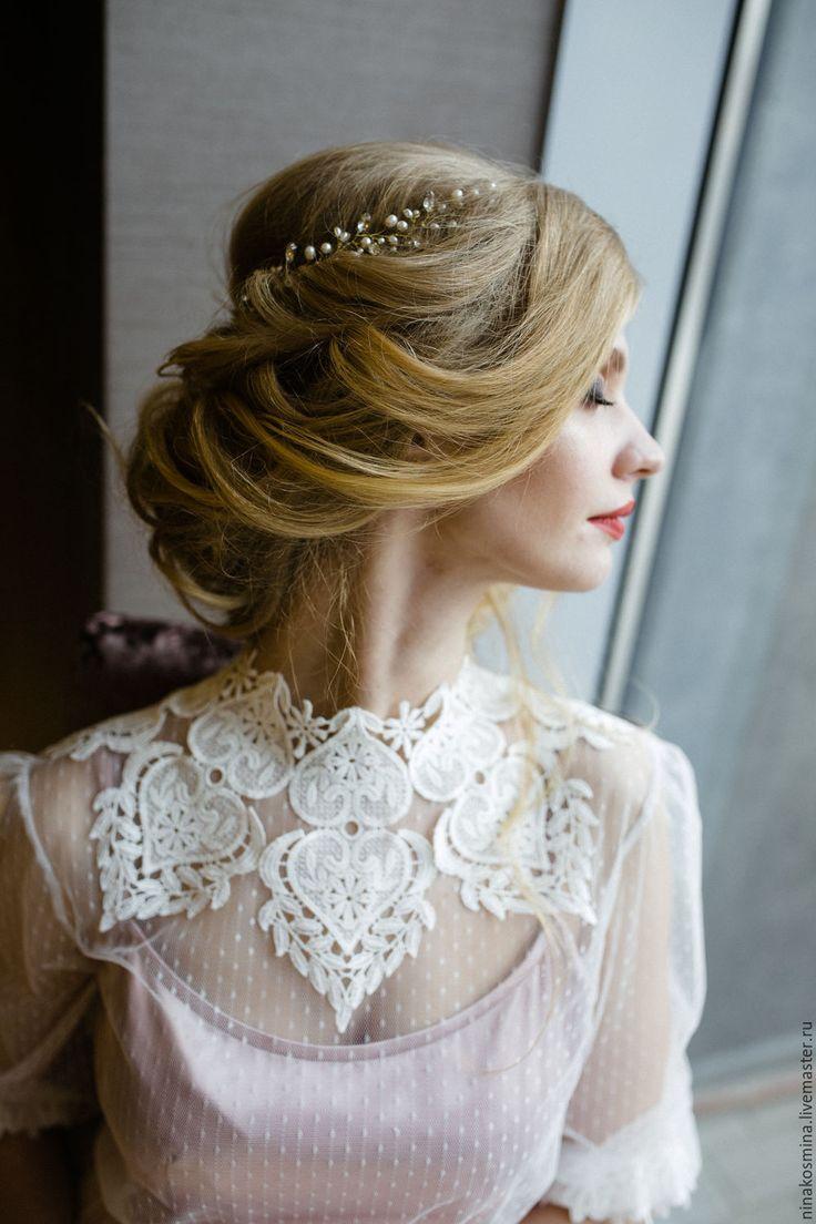 Vintage wedding dress / Купить Винтажное свадебное платье - бледно-розовый, свадебное платье, цветное свадебное платье