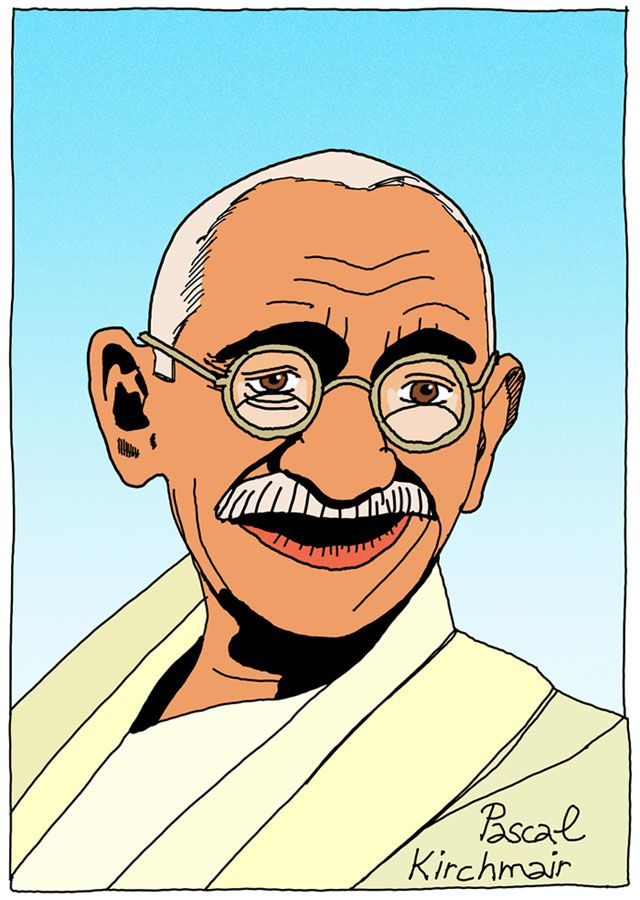 """""""You must be the change you wish to see in the world."""" - Mahatma Gandhi   マハトマ・ガンディー"""