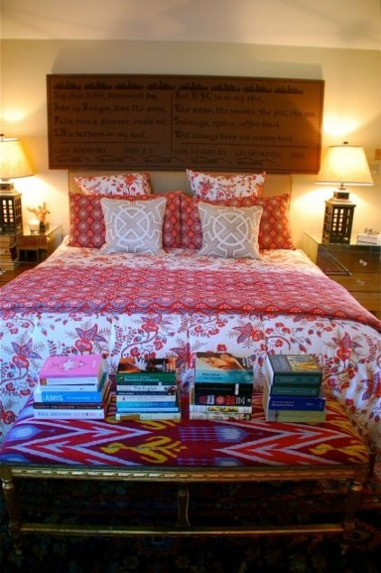Eclectic Bedroom By Lisa Borgnes Giramonti Burlap Wall Deco
