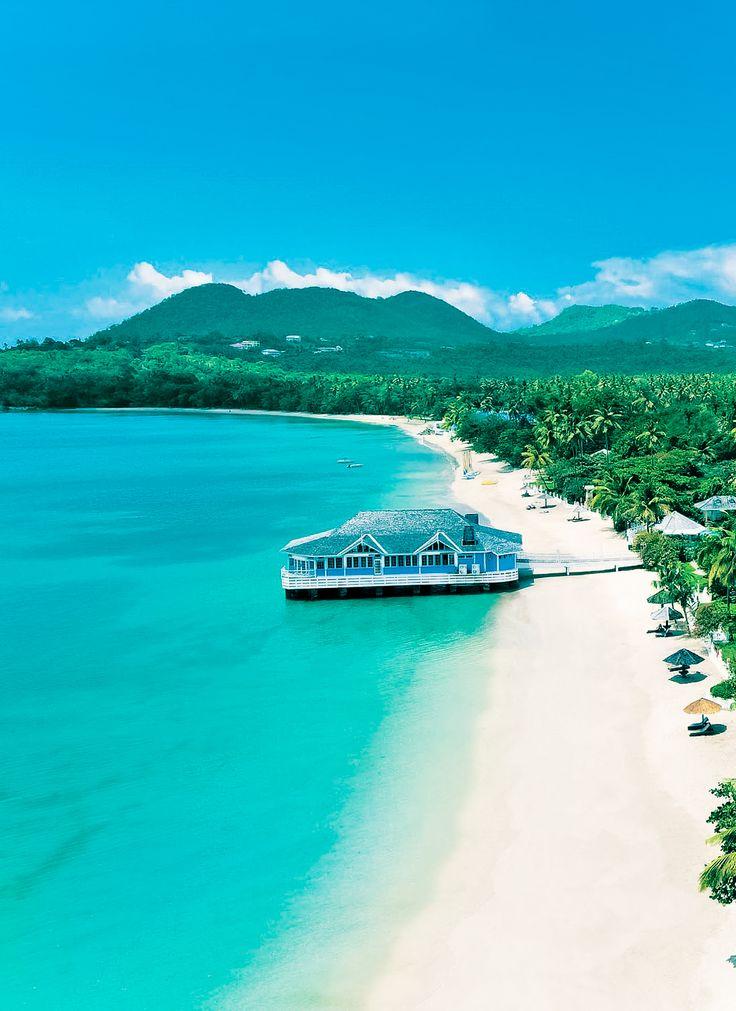 Sandals Halcyon Beach, St Lucia