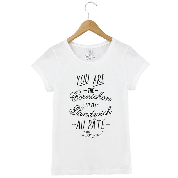T-shirt Cornichon