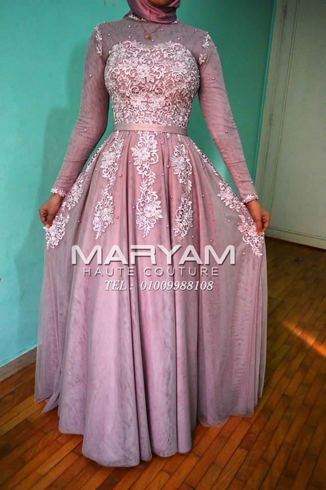 فستان سواريه للمحجبات باللون الكشمير Sleeveless Formal Dress Dresses Formal Dresses