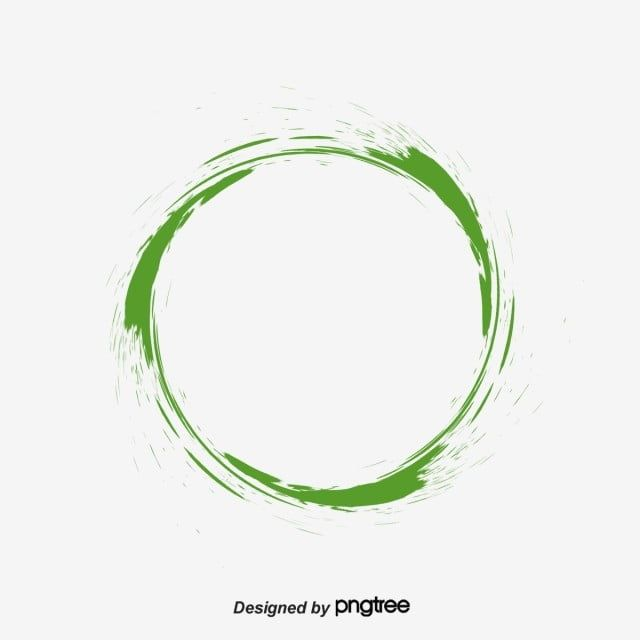 Green Ink Circle Green Clipart Circle Clipart Green Png Transparent Clipart Image And Psd File For Free Download Circle Clipart Ring Around The Moon Green Circle Logo