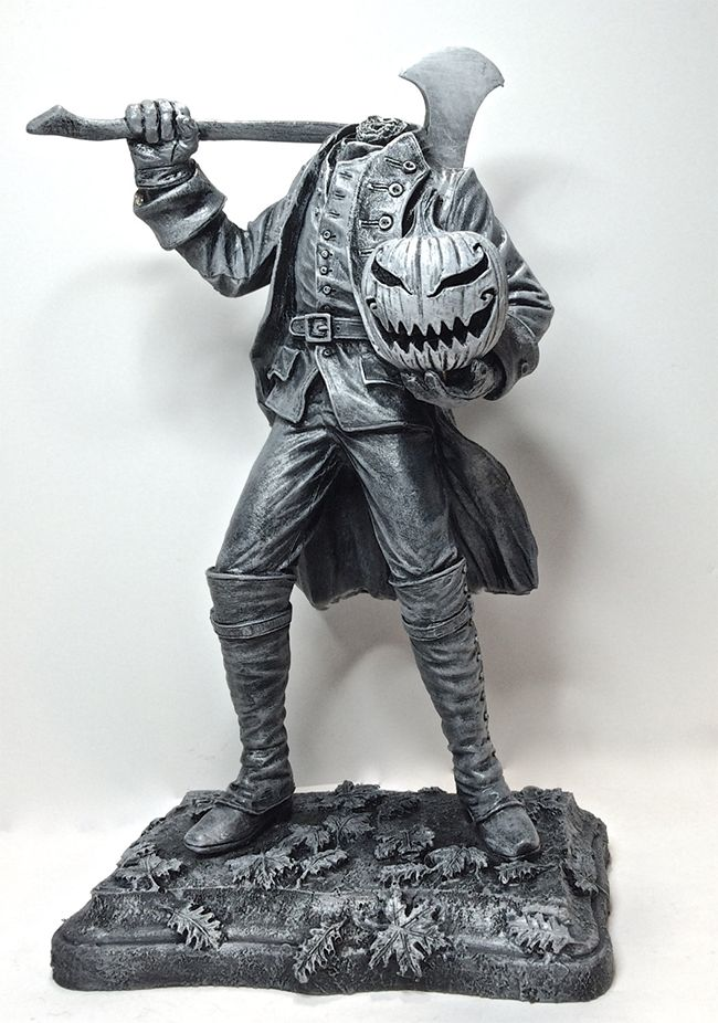 Headless Horseman Statue | Church of Halloween