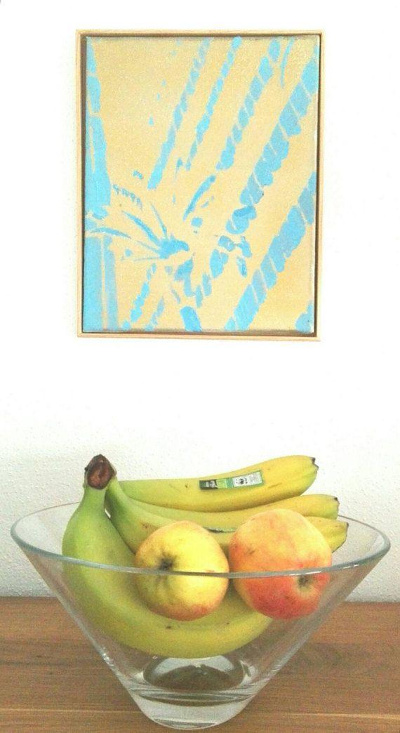 Sieh dir dieses Produkt an in meinem Etsy-Shop https://www.etsy.com/de/listing/513841863/acrylbild-palme-detail-ii-gerahmt-24-x  #teampinterest