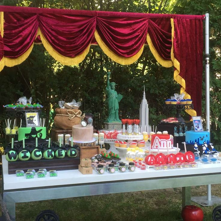 Broadway shows !  Birthday Party Ideas | Photo 5 of 22