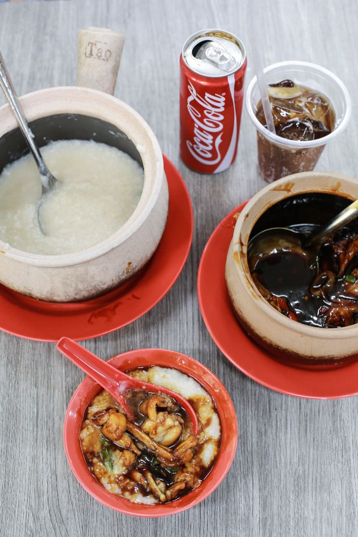 Frog's Leg Porridge sounds like an exotic dish to eat in TV series Fear Factor, except that it is not. The local Singaporean delicacy of succulent frog meat served with smooth congee is usually consumed during dinnertime or suppertime.