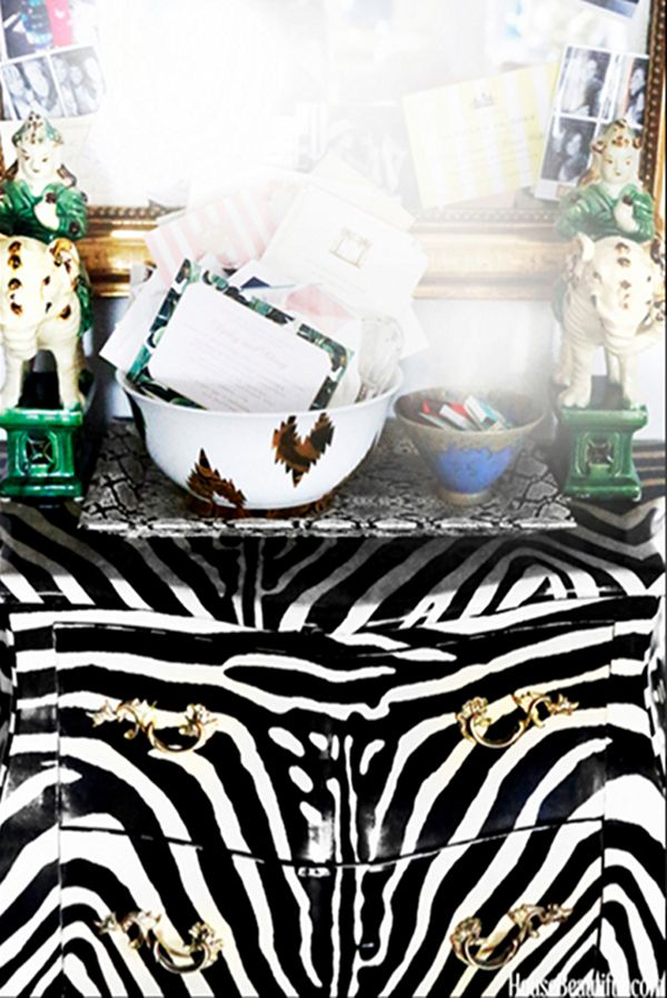 Zebra dressoir