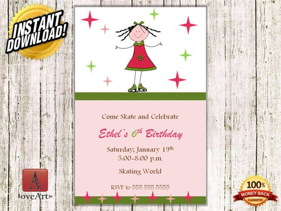 Hey, I found this really awesome Etsy listing at https://www.etsy.com/listing/249226137/instant-download-ice-skating-invitation