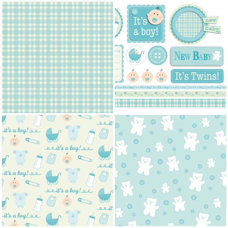 Free Baby Digital Scrapbook Paper Free Spring Papers Freebies