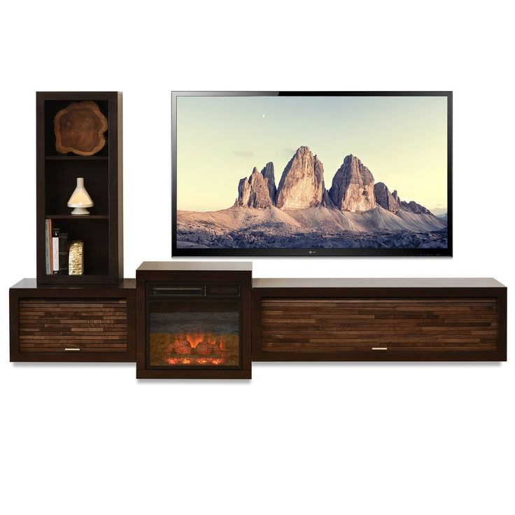 Fireplace Design fireplace stands : The 25+ best Tv stand with fireplace ideas on Pinterest