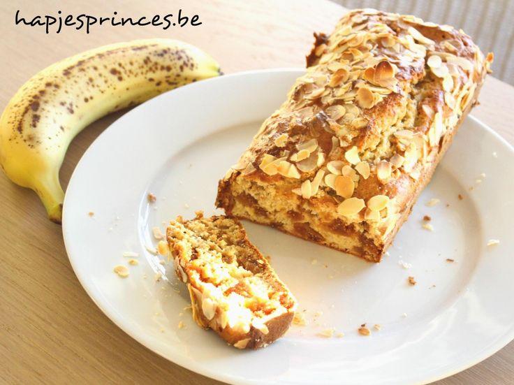 Ontbijt: Healthy bananenbrood met vijgen - Hapjes Princess gezond eten gezonde snack