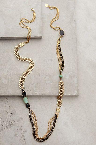Treasure Box Necklace by GAS Bijoux #bleucommeleciel