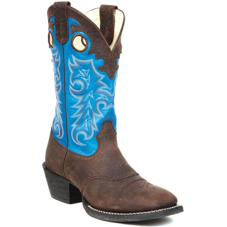 blue cowgirl boots | ... Blue Saddle Western Boot , DB5483 - Durango Boots - Durango Boot