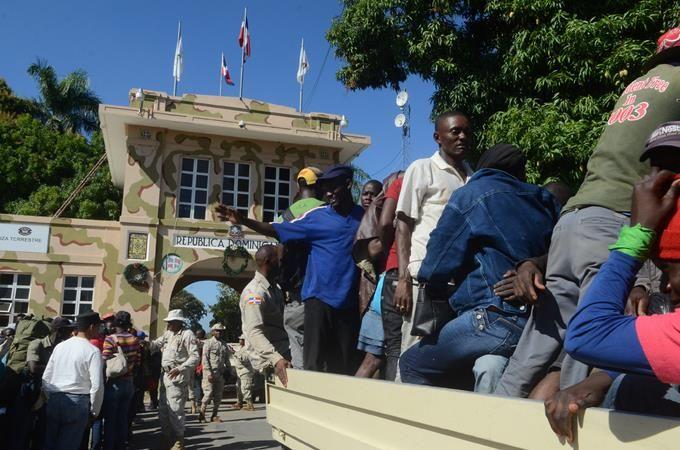 Continua la depuración de haitianos ilegales para ser repatriados en Dajabón