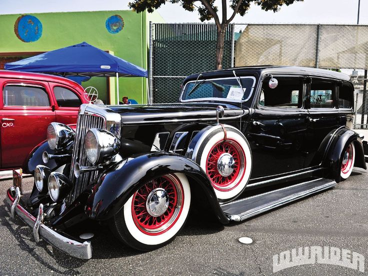 Wow... a luxury lowrider. I dig it. Looks like a mild chop. That front end is just awesome.