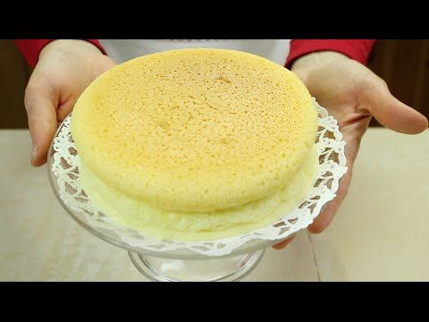 COTTON CHEESECAKE (Cheesecake Giapponese) - Homemade Japanese Cheesecake - YouTube