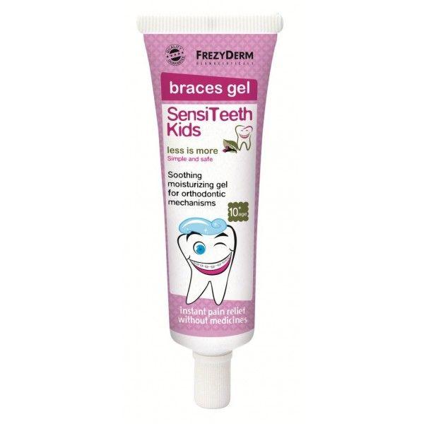 Frezyderm SensiTeeth Braces Gel   Καταπραϋντικό Ενυδατικό gel Για Ορθοδοντικούς Μηχανισμούς, Για Παιδιά Από 10+ετών 25ml. Μάθετε περισσότερα ΕΔΩ: https://www.pharm24.gr/index.php?main_page=product_info&products_id=4422