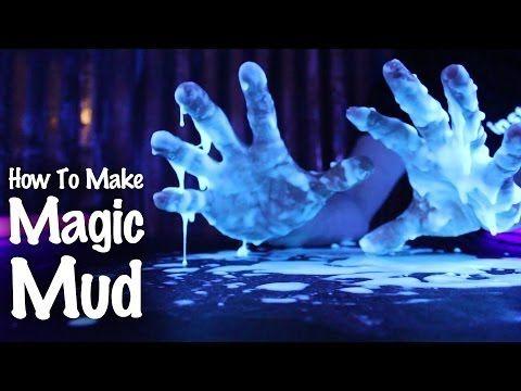 How to Make Glowing Oobleck Slime from Potatoes & Tonic Water