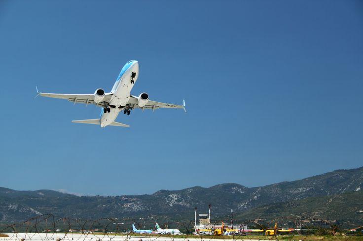 Greece, Samos airport