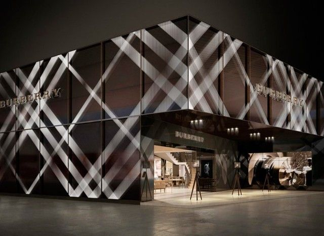 Burberry store #design #eventprofs #installation
