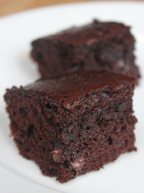 Slim down your brownie recipe without using sugar or substitutes flour substitutes. Get the recipe here!