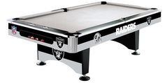Use this Exclusive coupon code: PINFIVE to receive an additional 5% off the Oakland Raiders 8' Pool Table  at SportsFansPlus.com