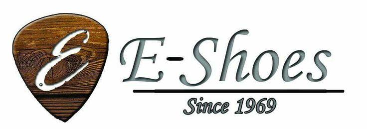 Studio e Realizzazione Logo per E-Shoes #logo #font #eshoes #dmprint #style #scarpeuomo #graphicdesign #art #shoes #hand #work