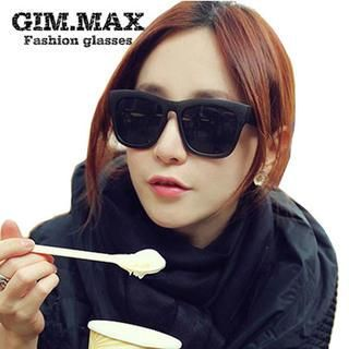 Buy 'GIMMAX Glasses – Retro Oversized Sunglasses' with Free International Shipping at YesStyle.com. Browse and shop for thousands of Asian fashion items from China and more!