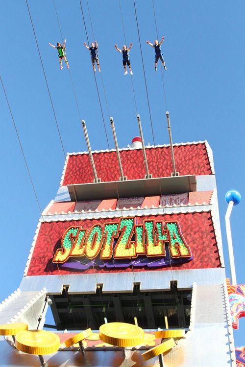 Las vegas slot machine zip line