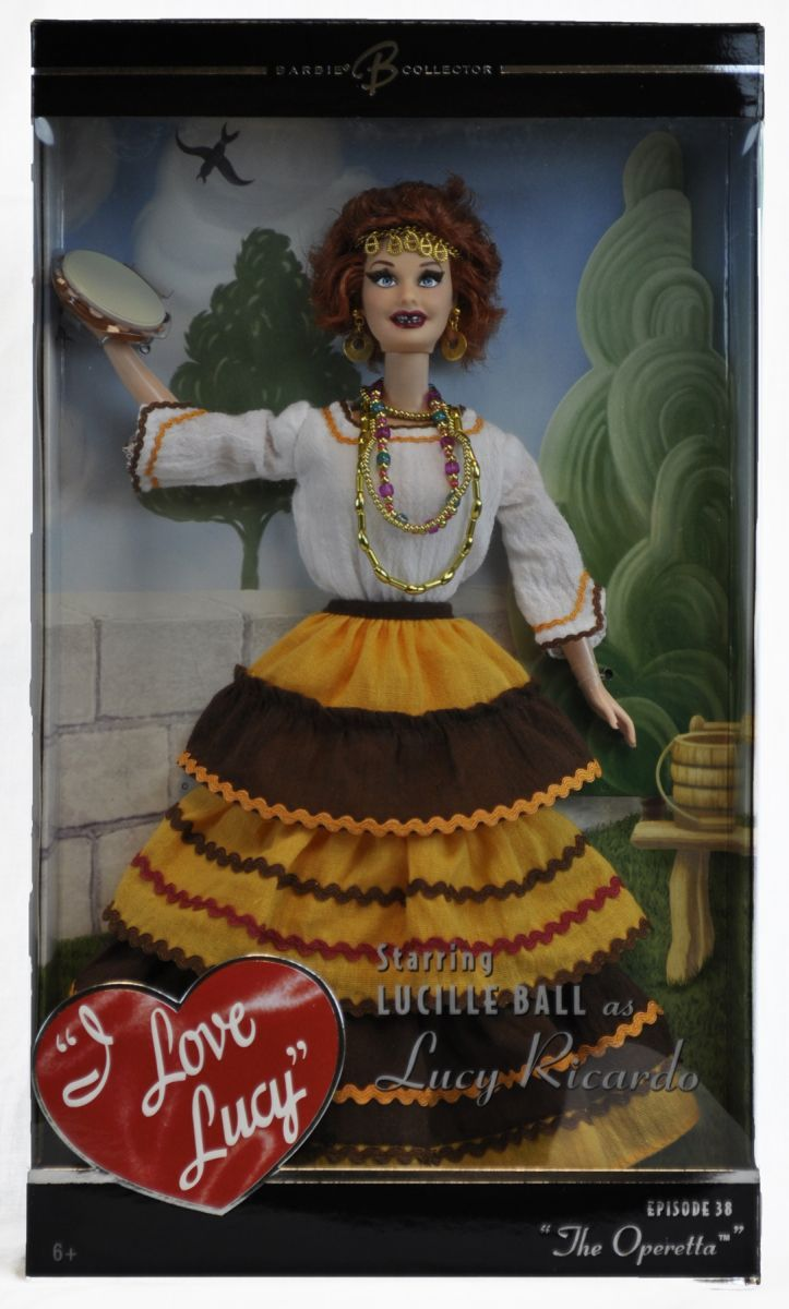 I Love Lucy Mattel Doll Queen of the Gypsies from the Operetta, $39.95