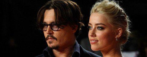 Campanas de boda entre Johnny Depp y Amber Heard