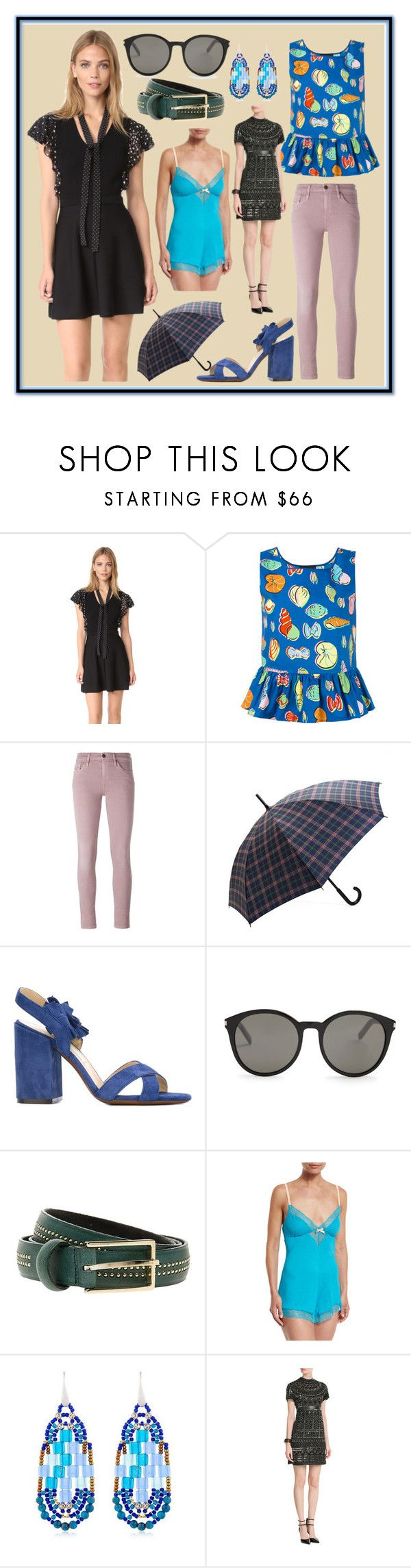 """""""We Love New Fashion"""" by cate-jennifer ❤ liked on Polyvore featuring RED Valentino, Boutique Moschino, Diesel, Brooks Brothers, L'Autre Chose, Yves Saint Laurent, Paul & Joe, Eberjey, Ziio and Lynn Ban"""