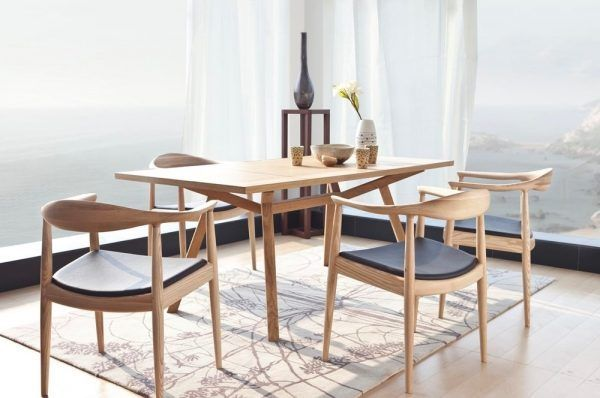 11 Wood Dining Chair For Scandinavian Decor 600x398 1 Dining Chairs Timber Dining Table Scandinavian Style Chairs