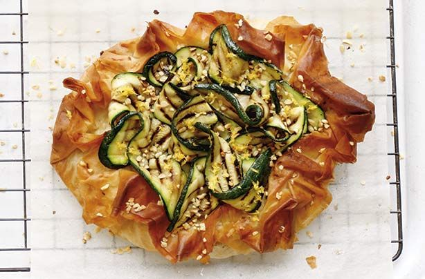 Italian ham and cheese filo tart recipe - goodtoknow