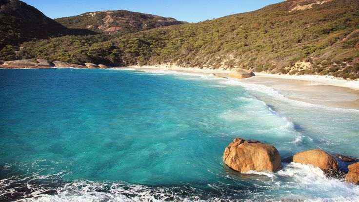 April 4: The coast of Coral Bay in Western Australia